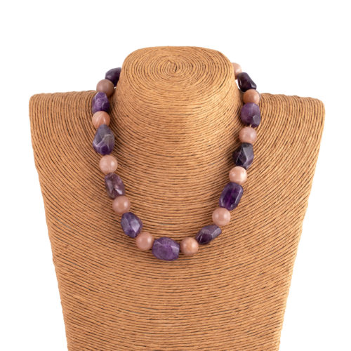 Collana sun purple
